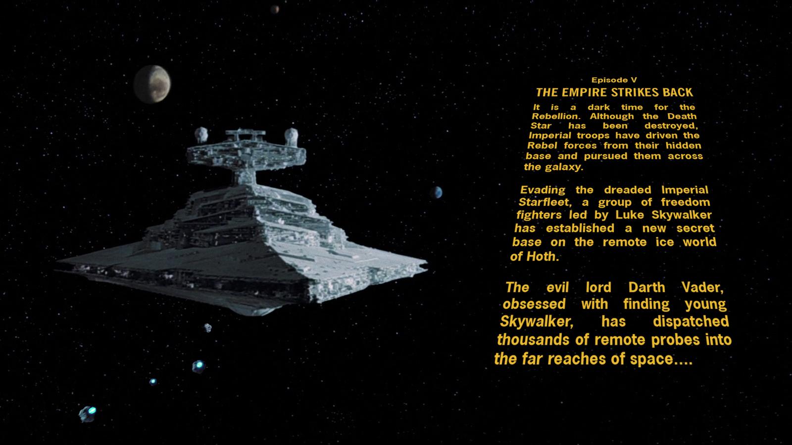 Star Wars Episode V Crawl Wallpaper By Spirit Of Adventure On Deviantart