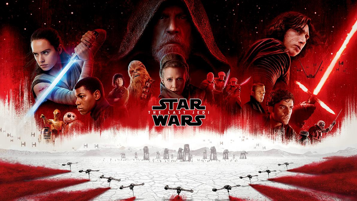 Star Wars The Last Jedi Wallpaper (Poster) by Spirit--Of-Adventure