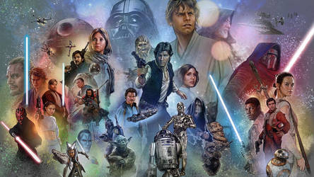 Star Wars Universe  Wallpaper - Jason Palmer