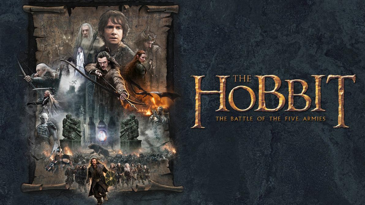 Hobbit Battle of the Five Armies Jerry Vanderstelt by Spirit--Of-Adventure