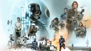 Rogue One Wallpaper by Brian Rood by Spirit--Of-Adventure