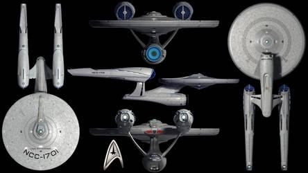 U.S.S. Enterprise (Kelvin Timeline) Wallpaper by Spirit--Of-Adventure