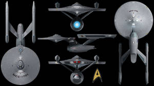 U.S.S. Enterprise (Refit) Wallpaper