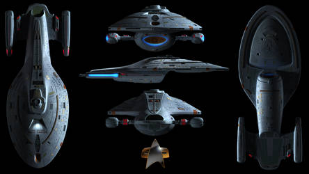 U.S.S. Voyager Wallpaper by Spirit--Of-Adventure