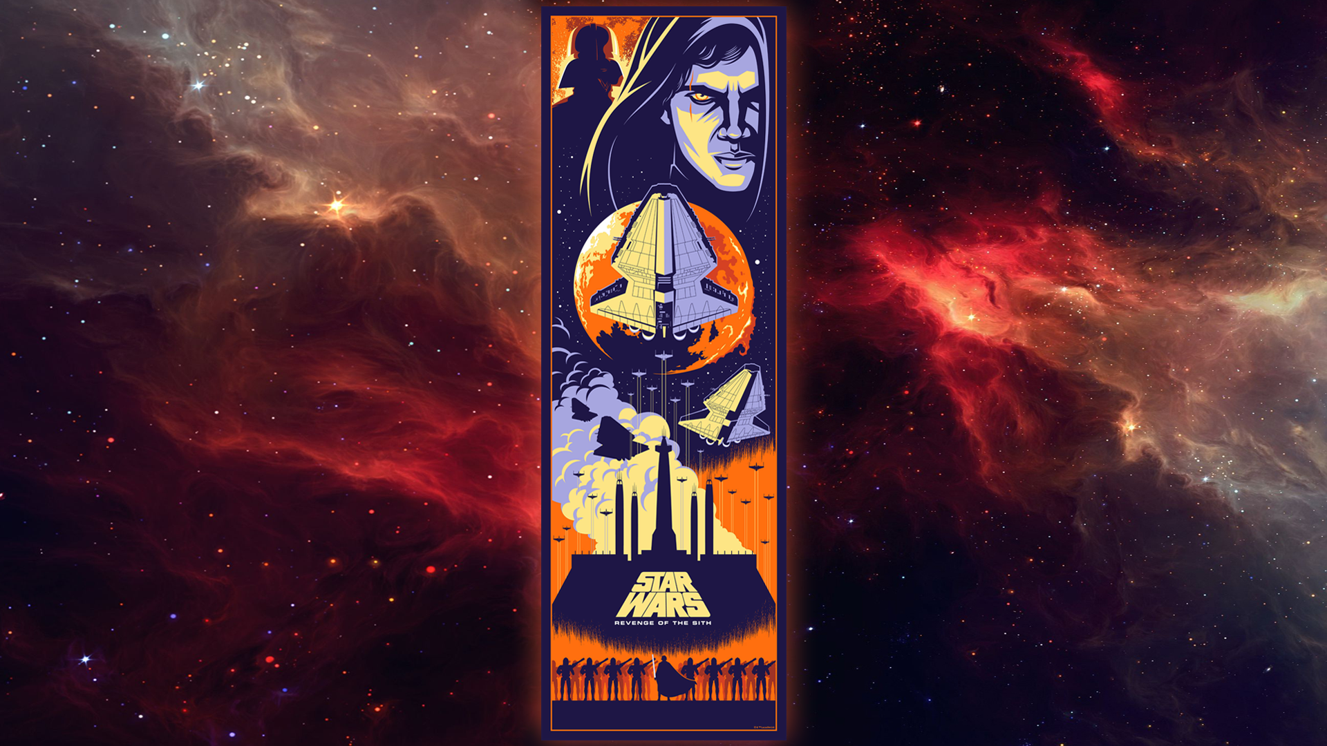 Revenge Of The Sith Wallpaper By Eric Tan By Spirit Of Adventure