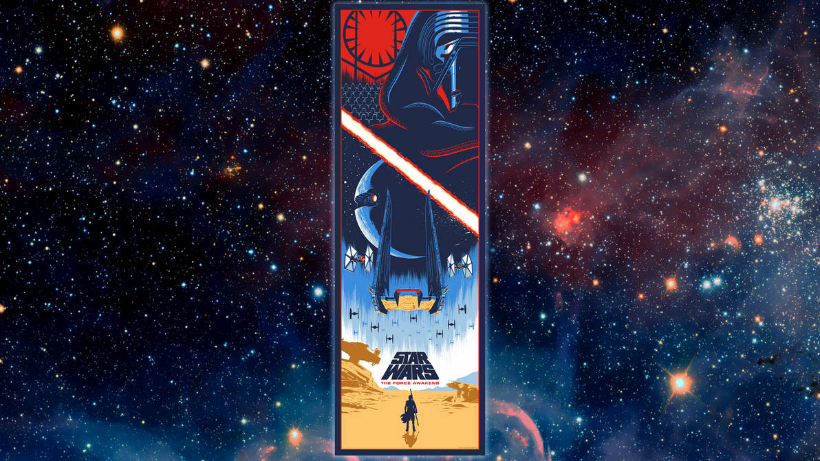 The Force Awakens Wallpaper by Eric Tan by Spirit--Of-Adventure