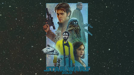 Solo: A Star Wars Story - Mural Wallpaper