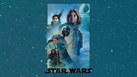 Rogue One: A Star Wars Story - Mural Wallpaper