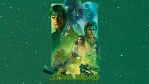 Return of the Jedi - Mural Wallpaper