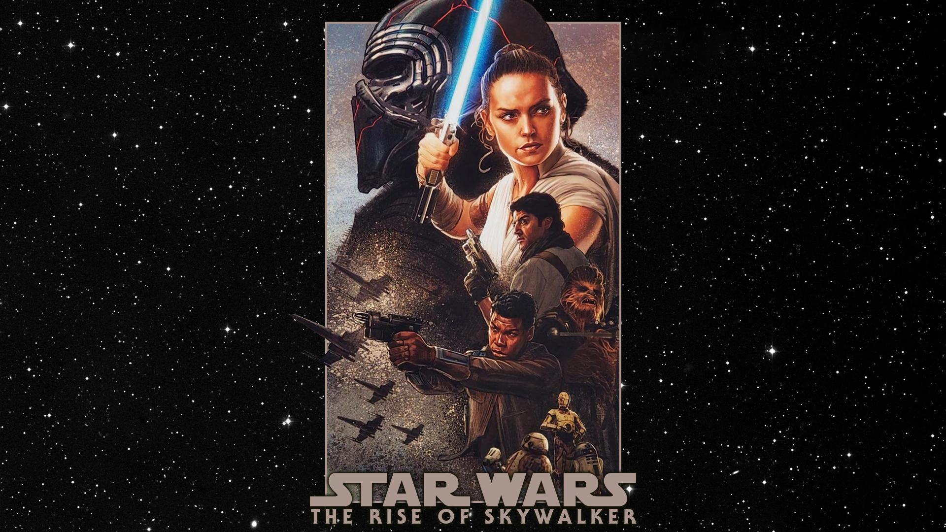 The Rise Of Skywalker Mural Wallpaper By Spirit Of Adventure On