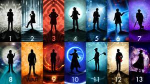 Doctor Who Wallpaper by Matt Ferguson