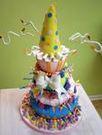 Children's Museum Cake by Heidilu22