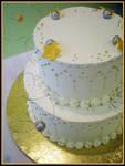 Wish Upon a Star Cake by Heidilu22