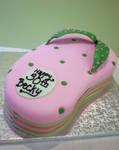 Flip Flop Cake by Heidilu22