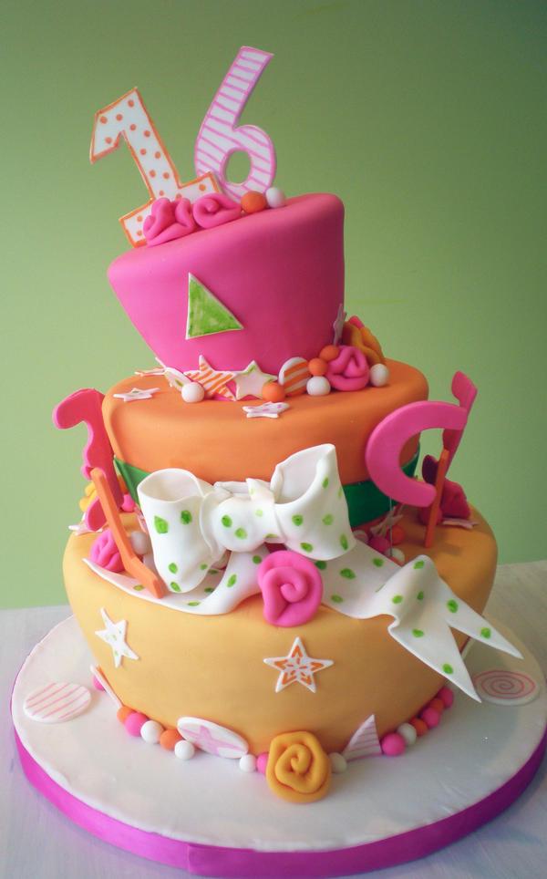 Weird Fluorescent Cake By Heidilu22 On Deviantart
