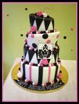 Pink and Black by Heidilu22