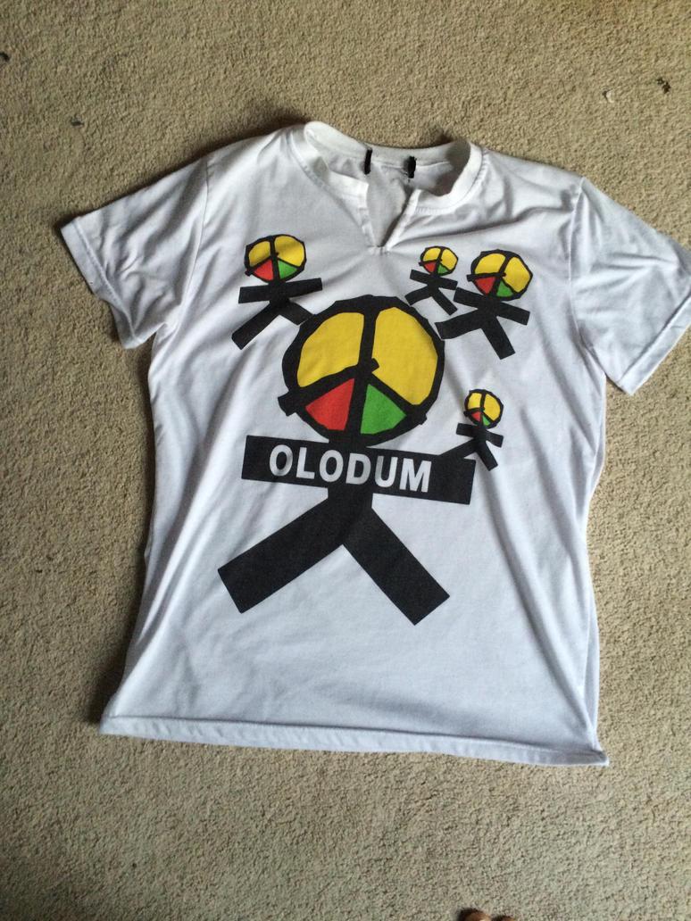 Michael Jackson Olodum tshirt by Conkerfan420