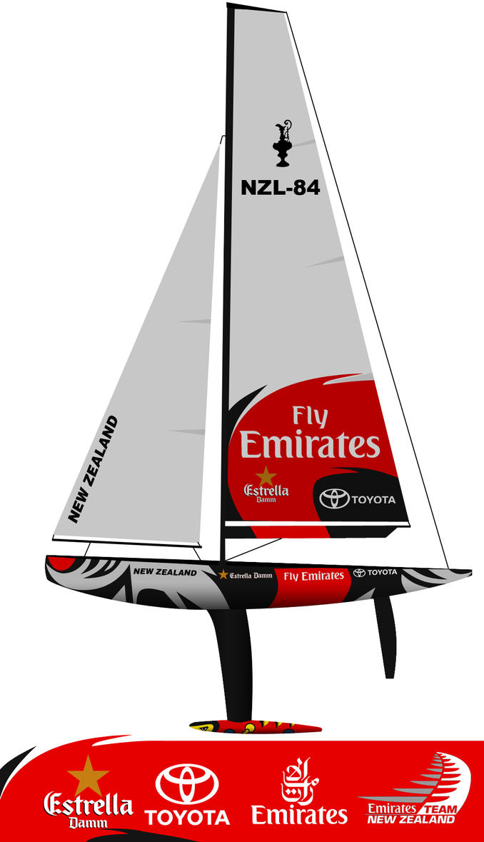 NZL-84 Americas Cup 2007 by AndyJDesign