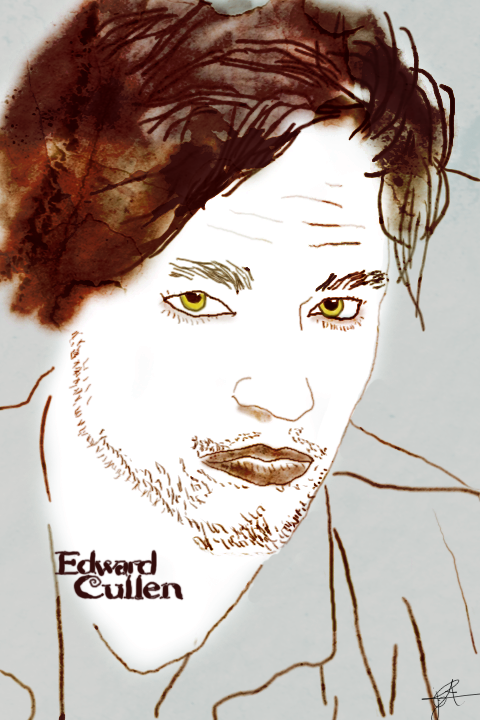 Edward Cullen Drawing By Joetjuhh On Deviantart
