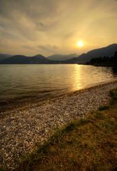 Pebble's Sunset by Joetjuhh