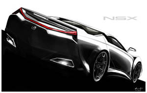 Acura NSX by RPOdesign