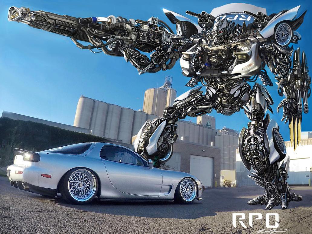 1994 Mazda Rx7 Transformer by RPOdesign