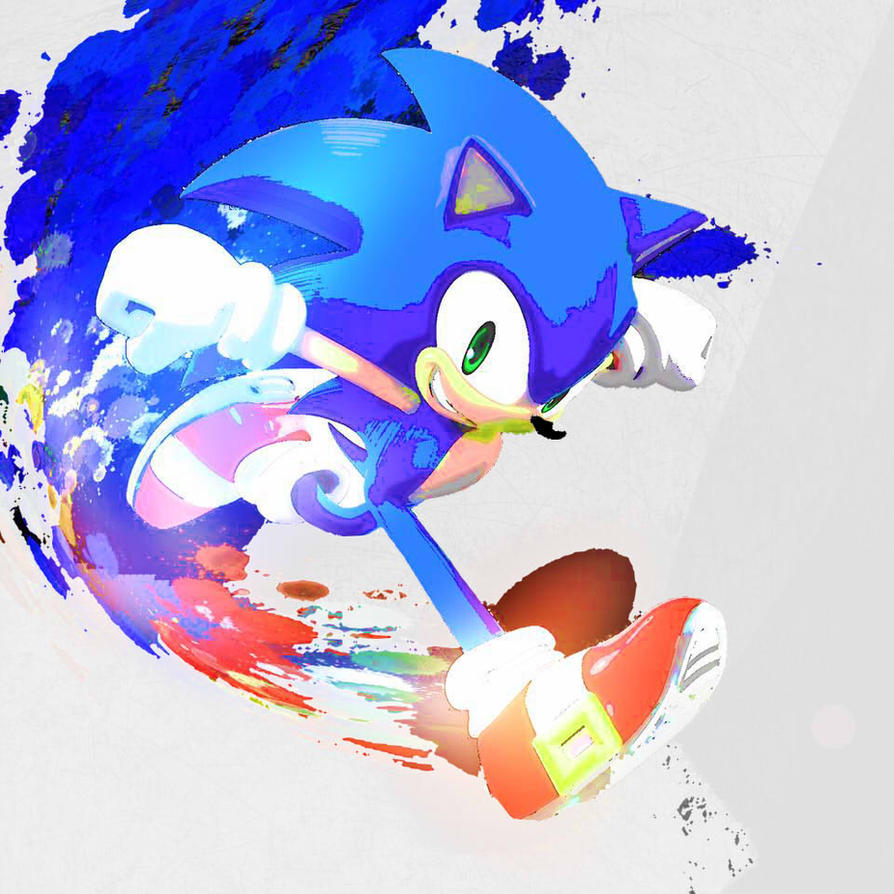 Saturated Paint - Sonic The Hedgehog by NeonstarMars on ...