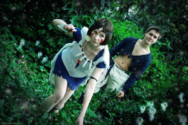 Prinzession Mononoke (Shooting) by HeroHiroTwinkle