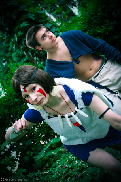 Prinzession Mononoke (Shooting)02 by HeroHiroTwinkle