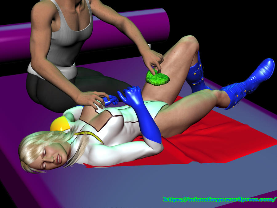 Powergirl kryptonite by orionsforge