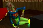 Supergirl Surprised part 3