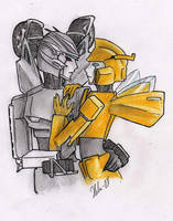 black and Yellow by IceDryad