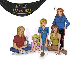 Uberhappy Hanukkah by TheStonemiester1