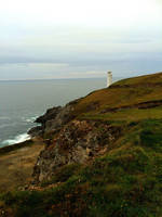 Cornish Lighthouse by Deb-e-ann
