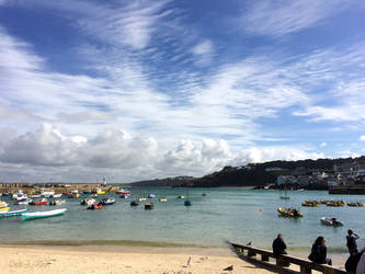 Clouds over St Ives by Deb-e-ann