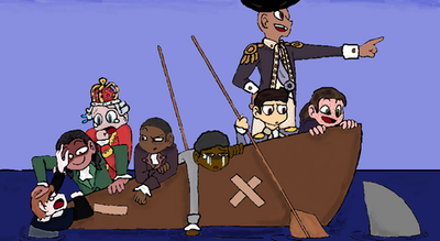 Hamilton Draw the Squad by JaybirdTheProxy