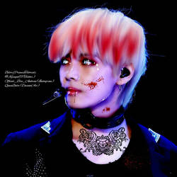 Vampire Taehyung by queenbalor