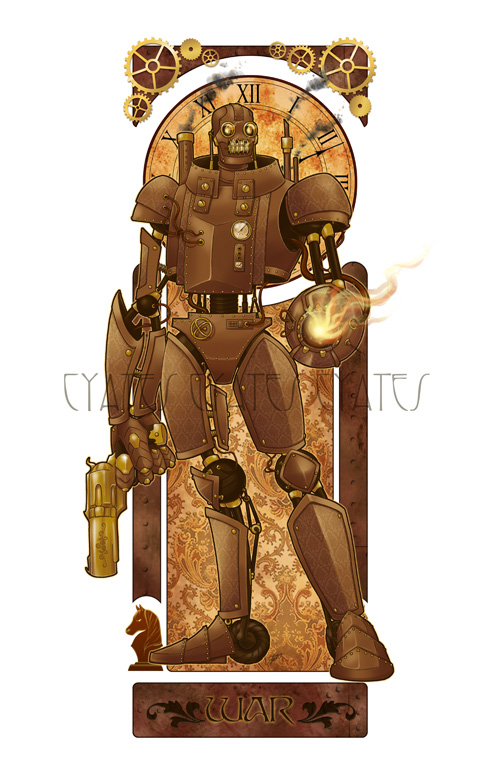 War - Steampunk Apocalypse by ShadesOfEarth