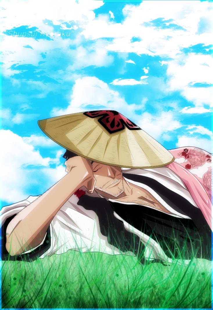 _Lazy ass Shunsui_ by BAN---KAI