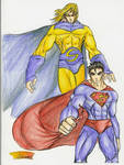 Superman and The Sentry