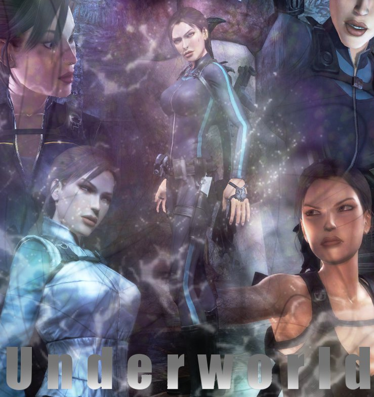 Tomb Rider Wallpaper: Tomb Raider Underworld X2 By Kinia24Lara On DeviantArt
