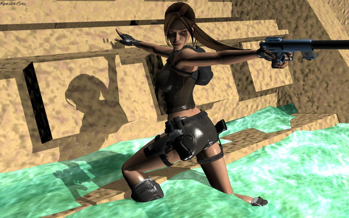 Lady croft 3d naked images