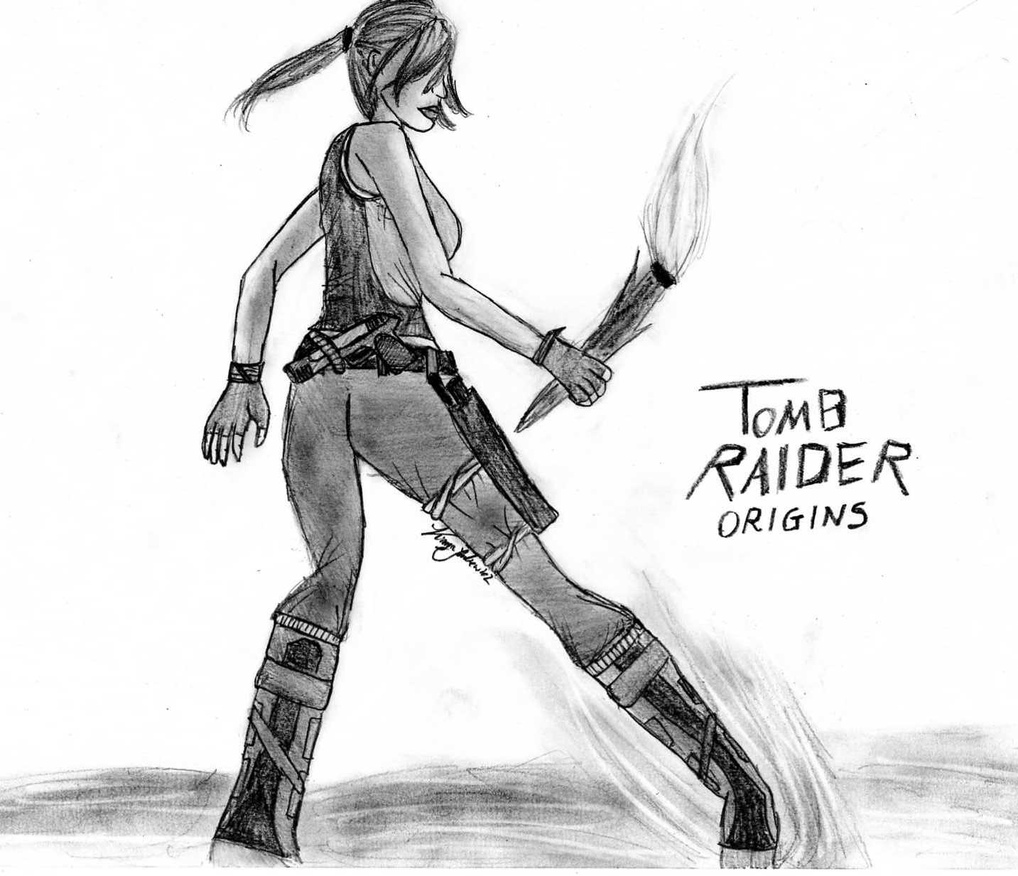 Tomb Rider Wallpaper: Tomb Raider Origins By Kinia24Lara On DeviantArt