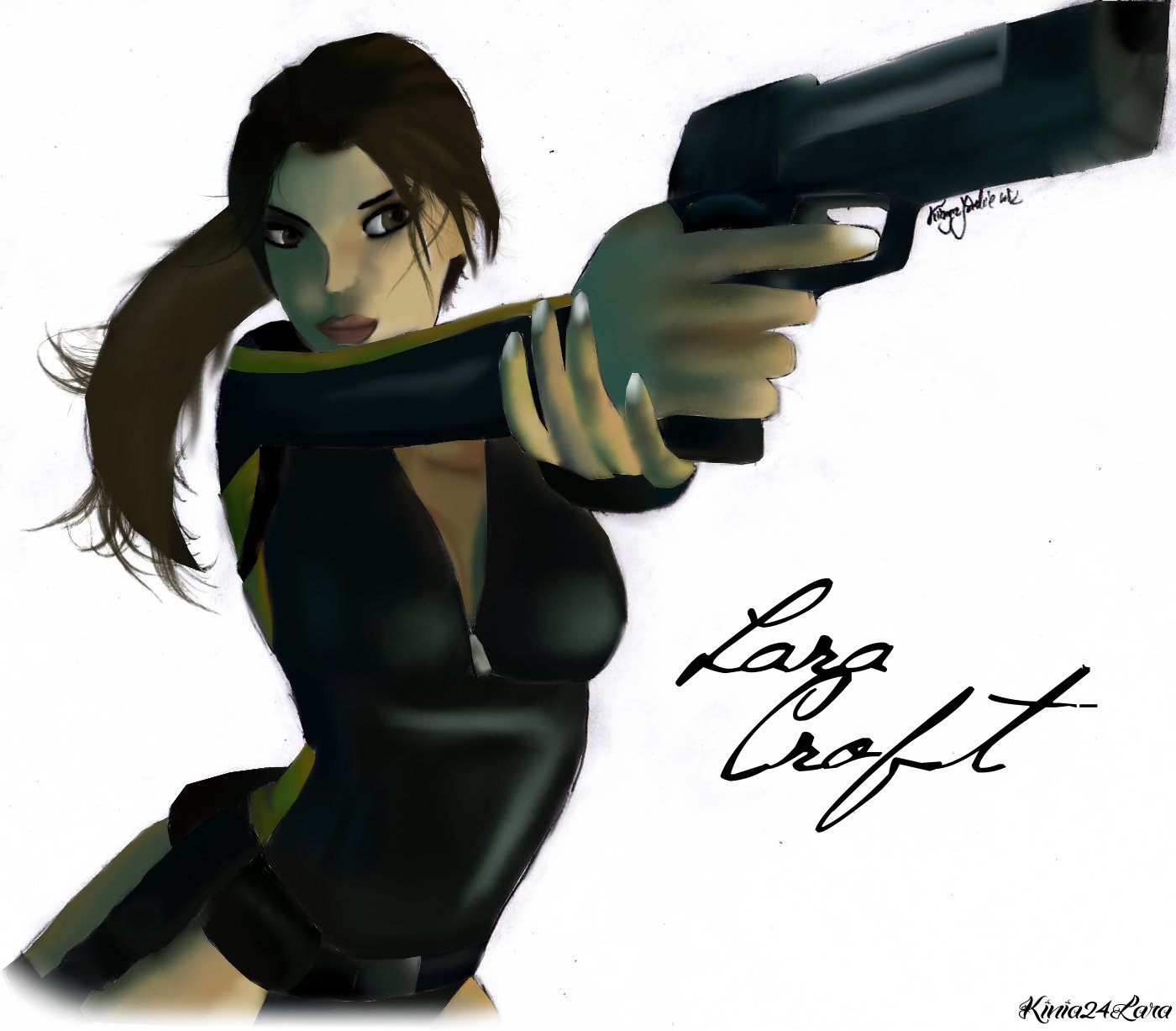 Tomb Rider Wallpaper: Lara Croft Tomb Raider....x2 By Kinia24Lara On DeviantArt