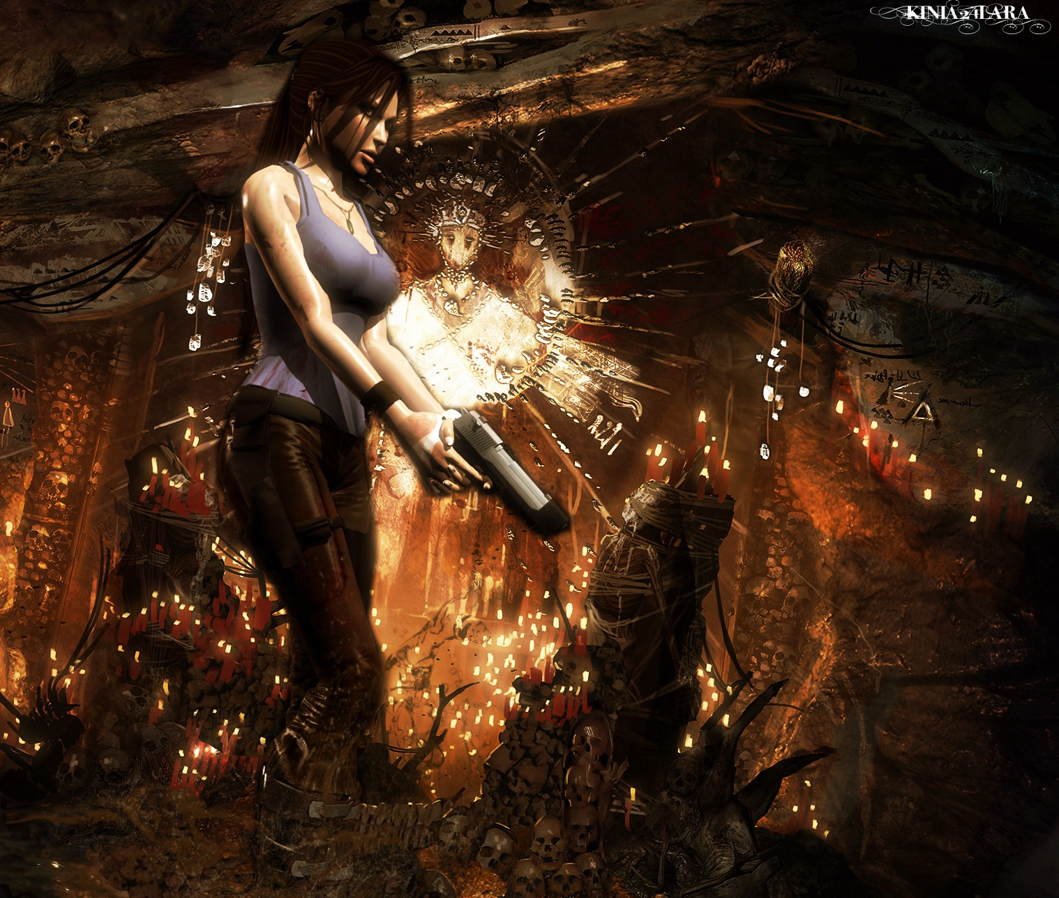 Tomb Rider Wallpaper: Tomb Raider 9 Render... By Kinia24Lara On DeviantArt