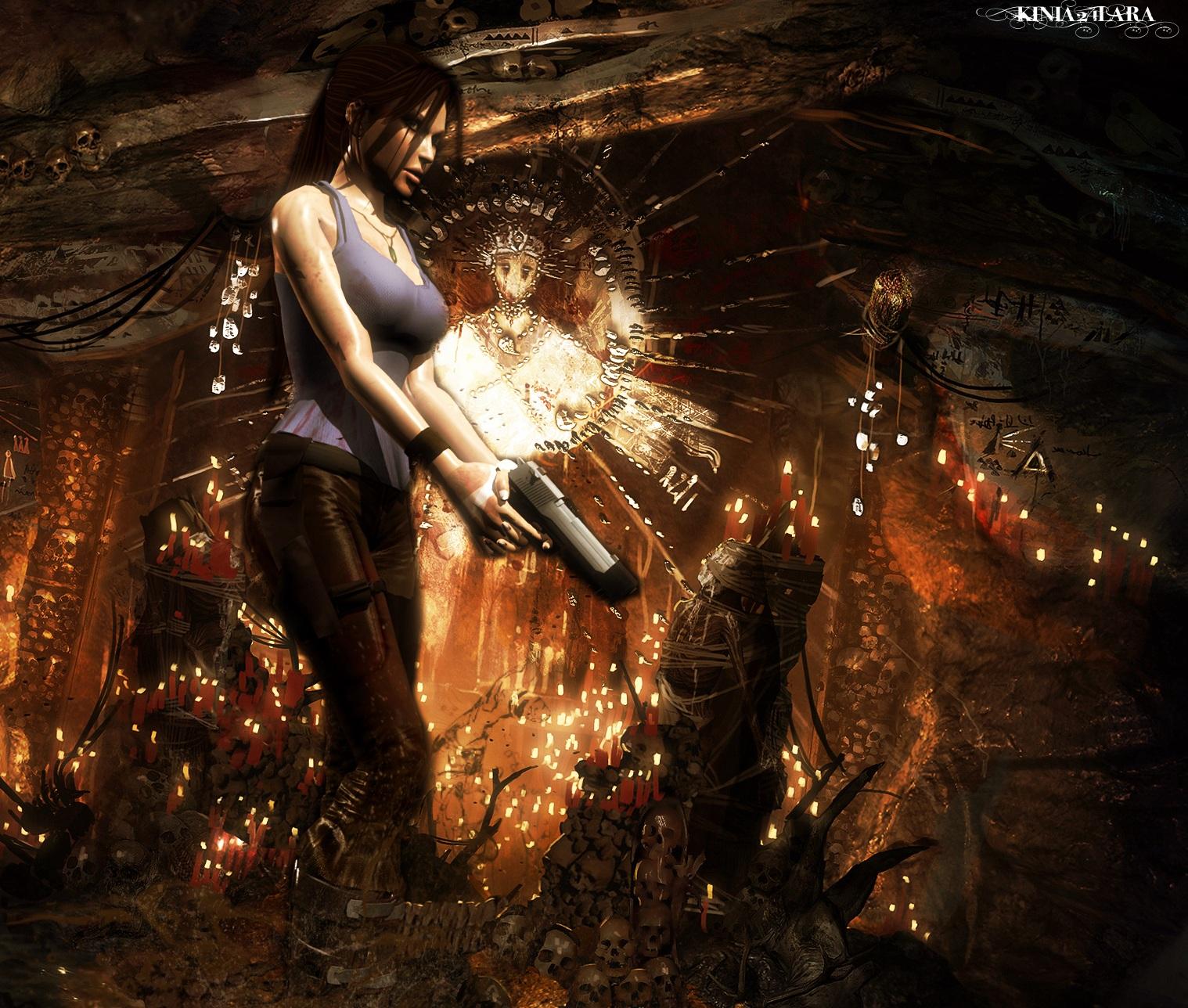Tomb Rider Wallpaper: Tomb Raider 9 Render... By Kinia24Lara On DeviantArt