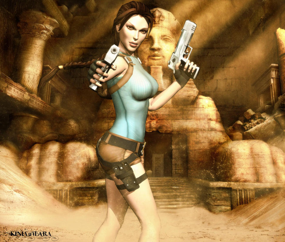 Tomb Rider Wallpaper: Tomb Raider Anniversary 2 By Kinia24Lara On DeviantArt