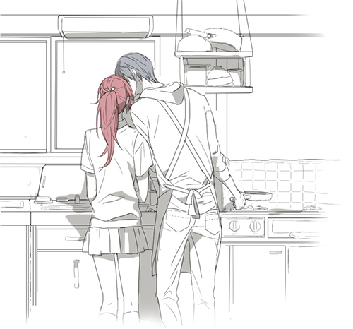 Gou and Haru by Joojia-Chan