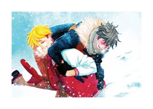 Lovember2018 #28 : [ Snow fight ]