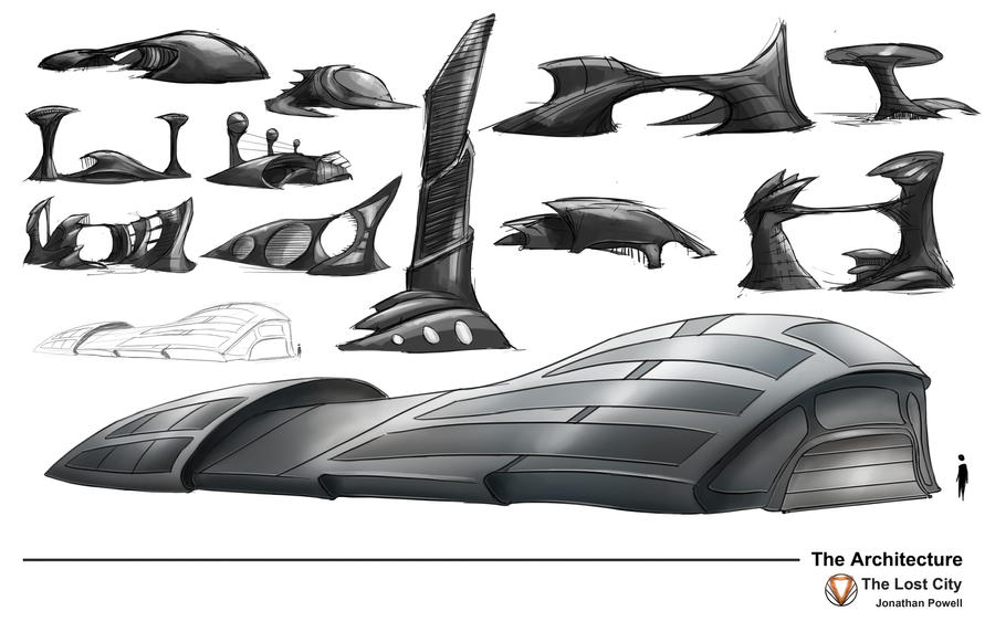 Futuristic Architecture Designs By JonathanP45 On DeviantArt